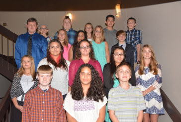 60 area seventh graders inducted into New Century Scholars at SCC